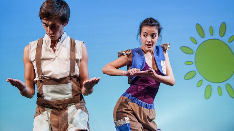 ZBOR PRIN POVEȘTI / regia: Violeta Dincă – Teatrul Ion Creangă, București│foto: Alexandra Jitariuc