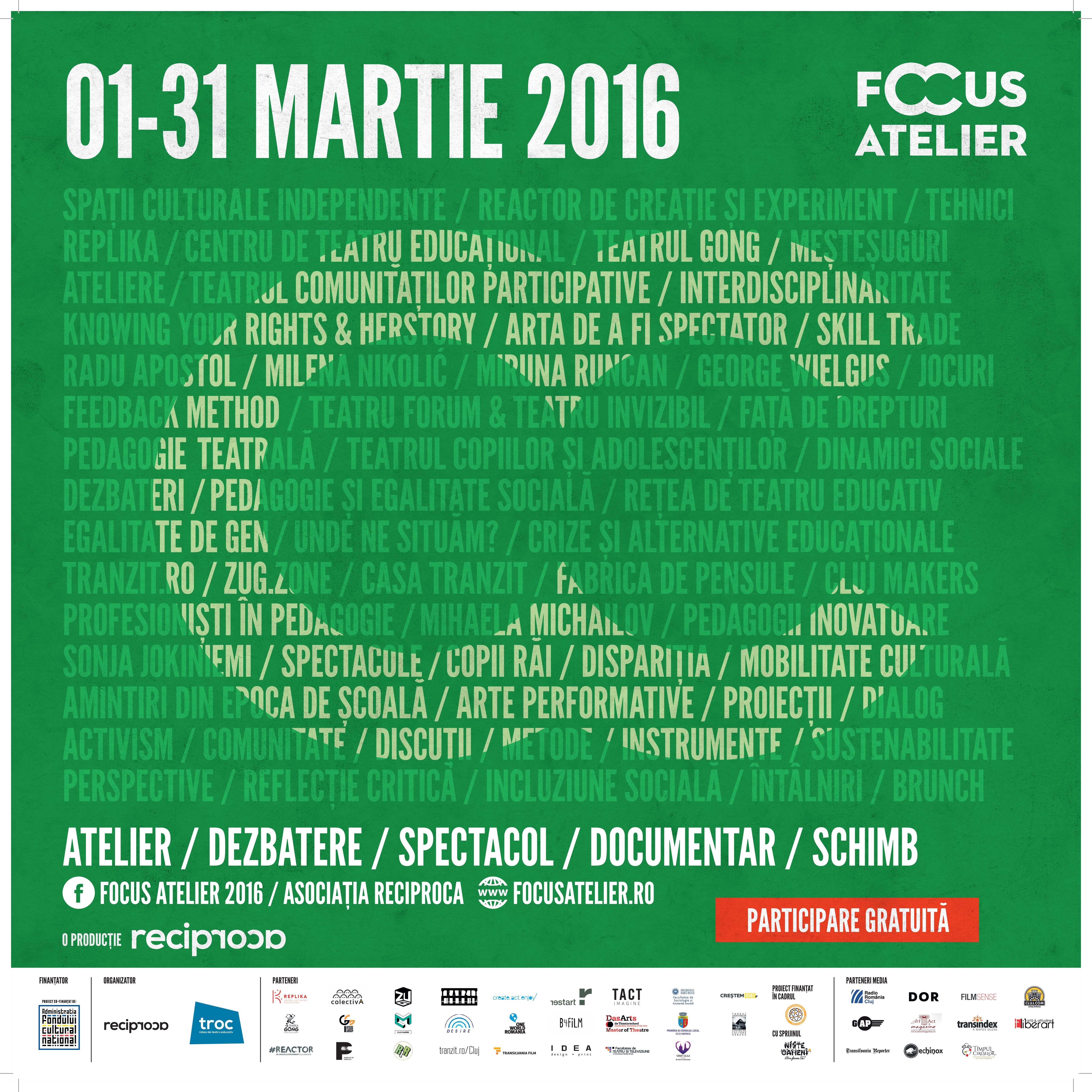 afis focus atelier 2016