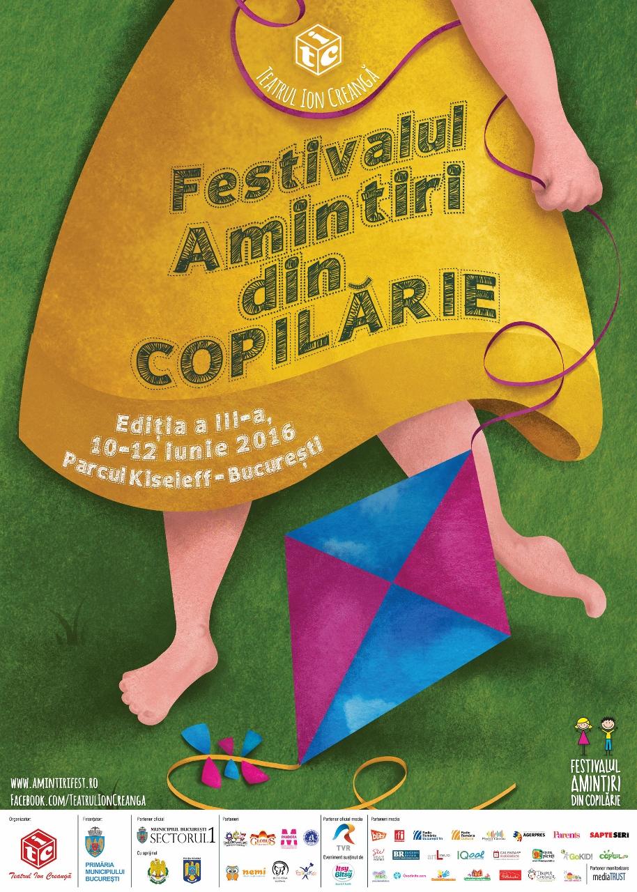 Festivalul Amintiri din copilărie 2016 - Teatrul Ion Creangă