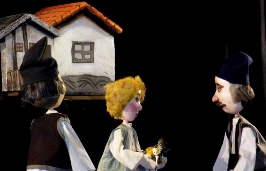 Amintiri din copilărie - Bogdan Tudor-Pelerin. Teatrul de Păpuşi Cărăbuş
