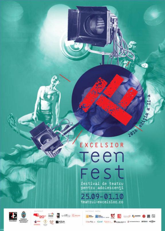 afiș Excelsior Teen-Fest 2016
