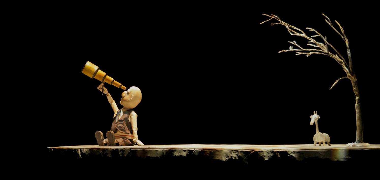 """GIRAFA / Teatrul de Păpuși Hop Signor din Grecia (Festivalul Internațional de Teatru pentru Copii """"100, 1.000, 1.000.000 de povești"""" - 2016)"""
