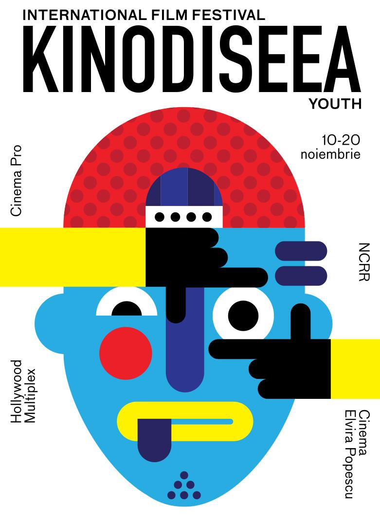 Afiș Festivalul de Film pentru Copii KINOdiseea 2016